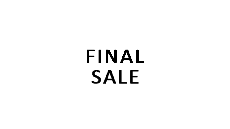 CYCLAS ONLINE SHOP FINAL SALE 開催のお知らせ