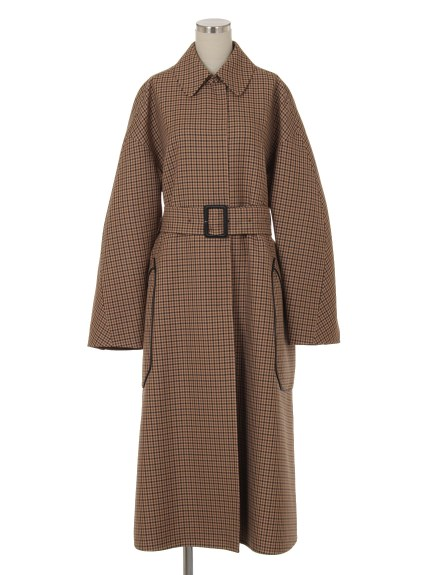シクラス(CYCLAS)のWOL PLAID DOUBLE FACE COAT ウールコート