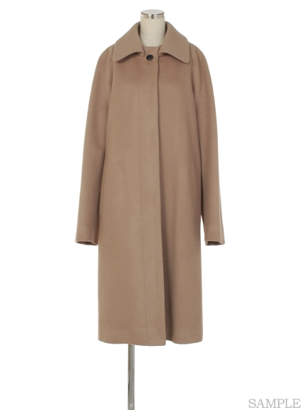 シクラス(CYCLAS)のWOL MELTON WIDE COLLAR COAT ウールコート