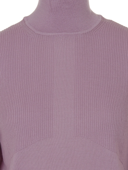 WORSTED WOL MOCK NECK P/O(トップス/ニット)の詳細画像