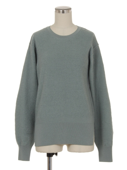 シクラス(CYCLAS)のWOL PILE FACED CREW NECK P/O ニット