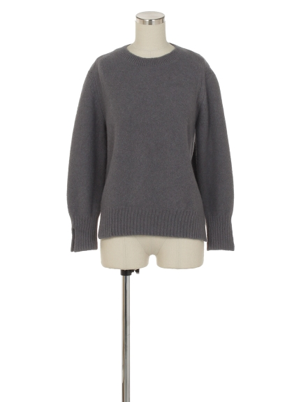 シクラス(CYCLAS)のWOL/CASH FELTED CREW NECK P/O ニット