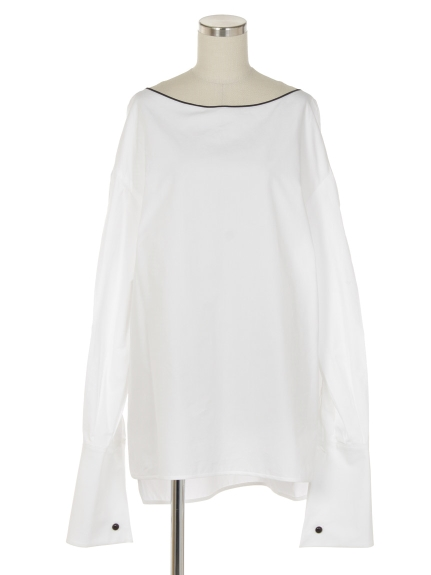 シクラス(CYCLAS)のCYC/ CTN BIG CUFF BLOUSE ブラウス