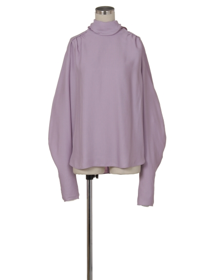 シクラス(CYCLAS)のVIS HIGH NECK BLOUSE W/BOW ブラウス