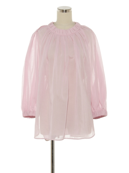 CTN VOILE GATHERED BLOUSE(トップス/ブラウス)の詳細画像