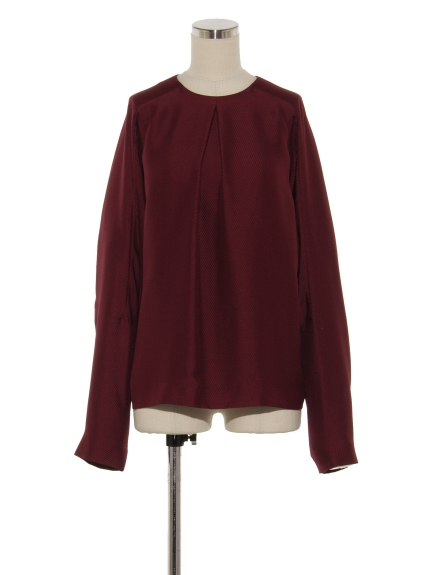 シクラス(CYCLAS)のSLK KERSEY RAGRAM SLEEVE TOP ブラウス