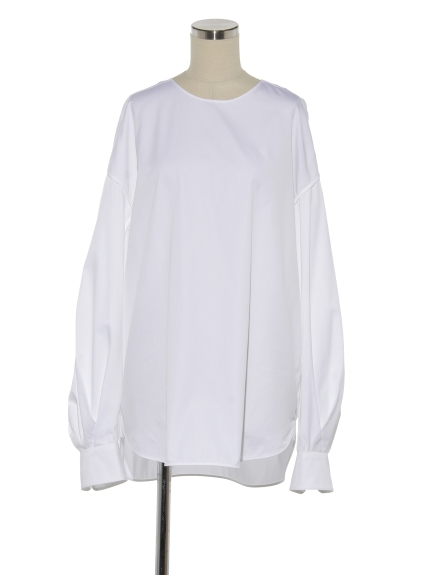 シクラス(CYCLAS)のCTN VOLUME SLEEVE SHIRT シャツ