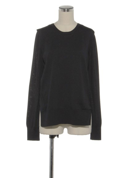 シクラス(CYCLAS)のWOL W-LAYERED CREW NECK P/O ニット