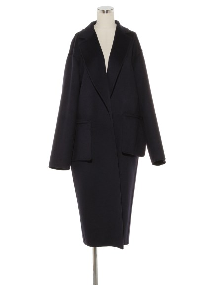 CASHMERE W-FACE CHESTER COAT(アウター/チェスターコート)の詳細画像