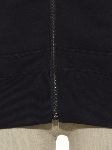 CHARM 1 COT RAIZED BACK ZIP UP PARKER(トップス/パーカー)の詳細画像