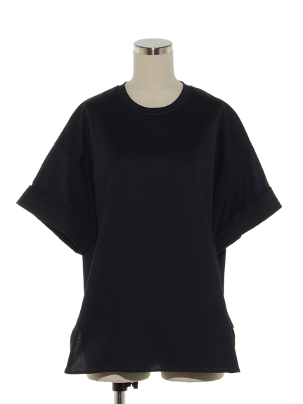 シクラス(CYCLAS)のCTN HIGH COUNT JERSEY TURN UP CUFFS TOP カットソー