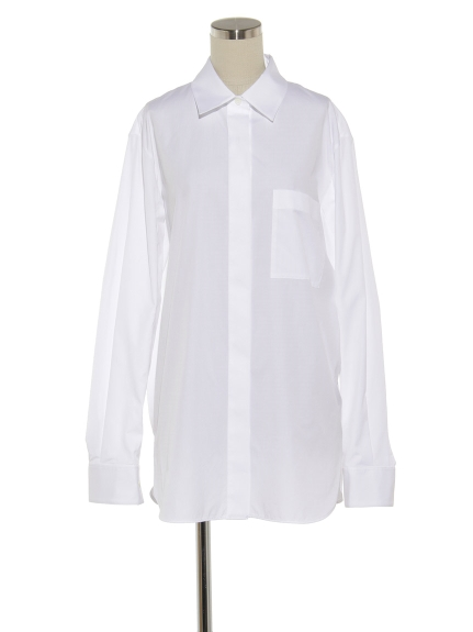 シクラス(CYCLAS)のCTN BROAD REGULAR COLLAR SHIRT シャツ