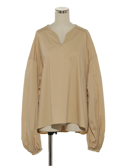 シクラス(CYCLAS)のCTN/NY TWILL VOLUME SLEEVE TOP ブラウス