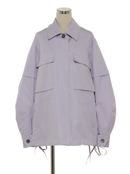 シクラス(CYCLAS)のCTN/SILK REGULAR COLLAR BLOUSON ブルゾン