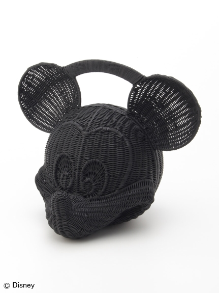 シクラス(CYCLAS)のCYCLAS BALLONNE manimaris Rattan Bag (Mickey) ハンドバッグ