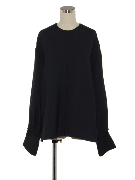シクラス(CYCLAS)のVIS ACT POINTED STITCH L/S  BLOUSE ブラウス