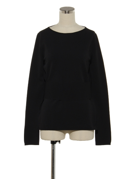 VIS PLY L/S ROUND NK BELTED P/O(トップス/カットソー)の詳細画像
