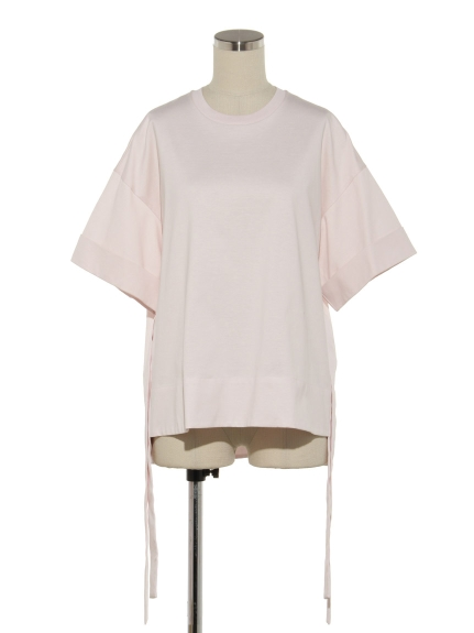 CTN INTERLOCK OVER SIZED SIDE SLIT T SHIRT(トップス/Tシャツ)の詳細画像